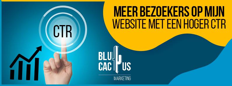 BluCactus - bezoekers op mijn website